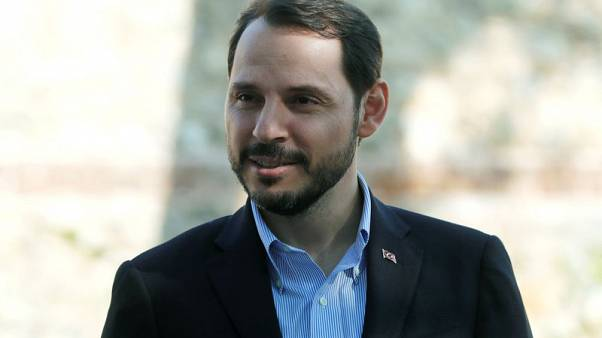 Turkey's Albayrak says central bank independent, sees no crisis in banking sector