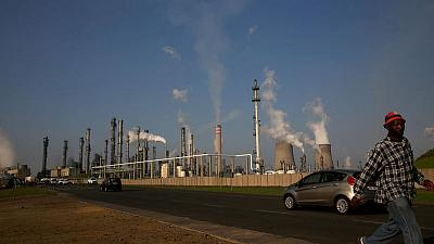 In South Africa, white Sasol workers protest against black share scheme