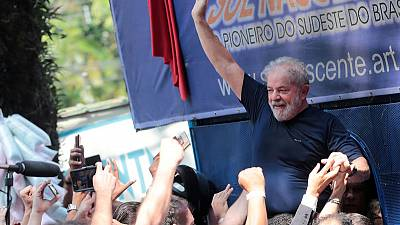 Brazil court bans campaign ads showing ex-president Lula as candidate