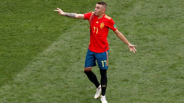 Aspas called up by Spain after Costa drop-out