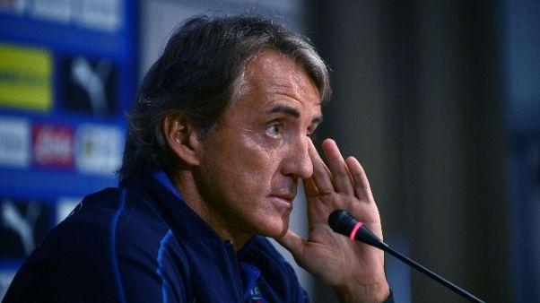 Azzurri:Mancini,più coraggio coi giovani