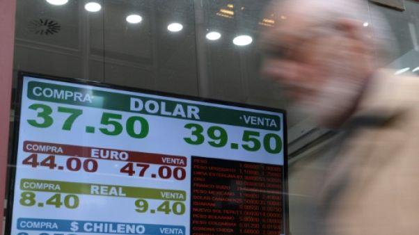 Face à la crise monétaire, l'Argentine annonce un plan d'austérité