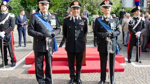 Carabinieri, cambio al vertice lombardo