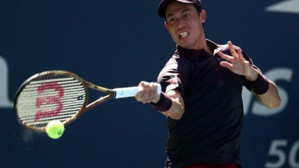 US Open: Nishikori retrouve les quarts de finale