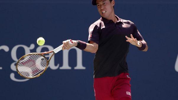 Nishikori advances to U.S. Open quarter-final