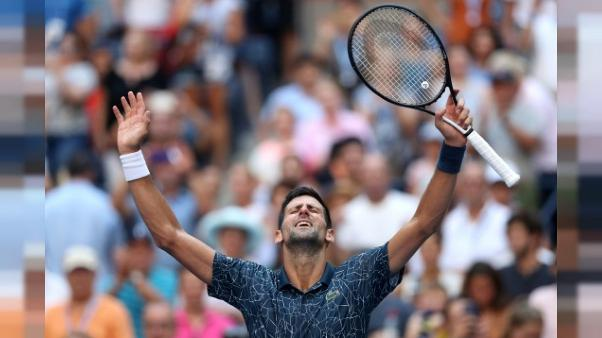 US Open: Djokovic attend Federer