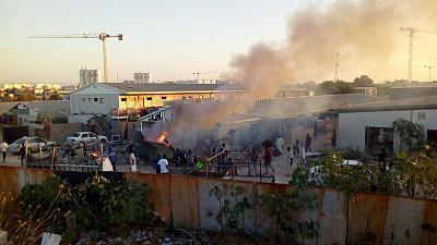 Facebook blocked in Tripoli and other cities as fighting rages - residents