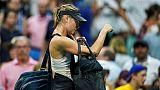 La joueuse de tennis Maria Sharapova à New York le 3 septembre 2018.