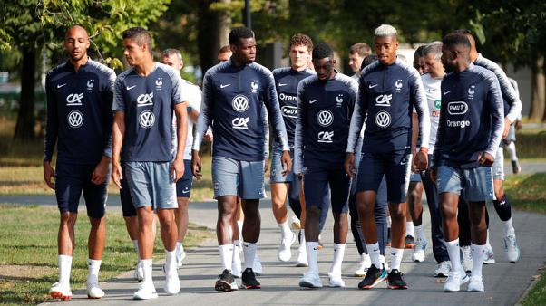 World champions France face Germany in Nations League opener