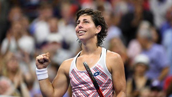 شارابوفا تخسر أمام سواريز نافارو في أمريكا المفتوحة