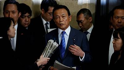 Japan finance minister seeks record 2019 budget to boost welfare, defence spending