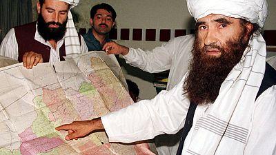 Taliban says founder of militant Afghan Haqqani network dies