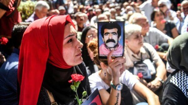 """Les """"mères du samedi"""" rassemblées à Istanbul le 1er septembre 2018"""