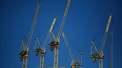 UK construction activity slows in August, price pressures ease