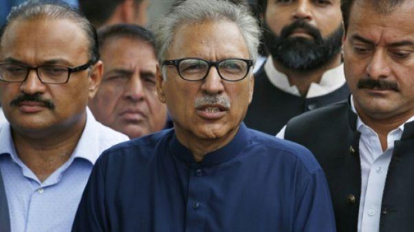 Arif Alvi le 27 août 2018 à Islamabad