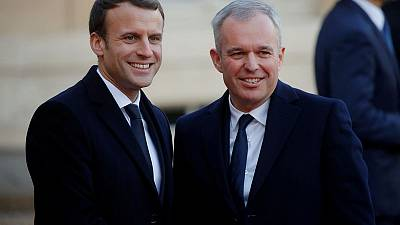Amid problems, Macron names new environment minister in reshuffle