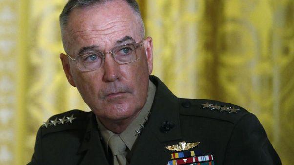 رئيس هيئة الأركان الأمريكية يحذر من هجوم كبير على إدلب السورية