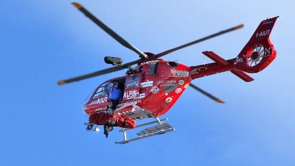 Aiut Alpin,droni rischio per elisoccorso