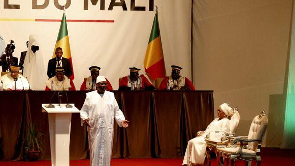 Mali's Keita promises to tackle rising violence in inaugural address