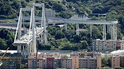 Autostrade executives among 13 on list of potential suspects in Italy bridge collapse