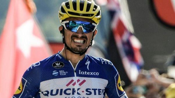 Tour de Grande-Bretagne: Alaphilippe vainqueur en sprinteur à Bristol, Bevin leader