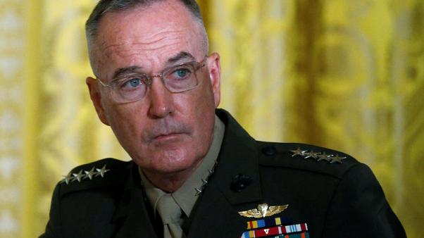 Top U.S. general warns against major assault on Syria's Idlib