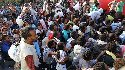 U.N. says has reached ceasefire for Libyan capital as jailed migrants escape
