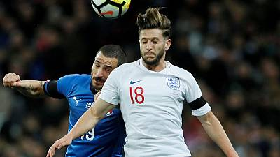 Lallana ruled out of England squad with groin injury