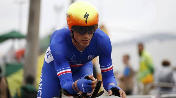 Alaphilippe wins Tour of Britain stage three, Bevin takes overall lead