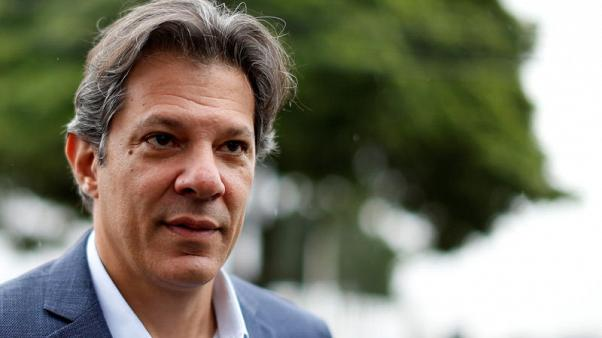 Brazil prosecutors charge Workers Party VP candidate Haddad with graft