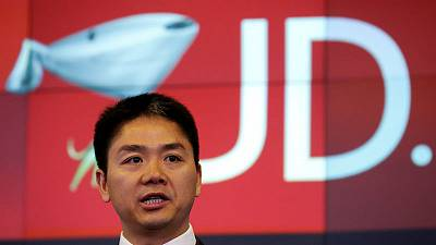 JD.com shares fall after CEO's arrest and release