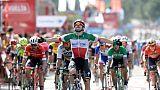 Tour d'Espagne: Viviani impérial, Yates reste leader