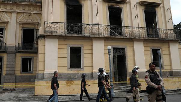 Skull of ancient human possibly found in burned Brazilian museum