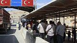تركيا تستعد لتقديم مساعدات داخل سوريا لمساعدة النازحين في إدلب