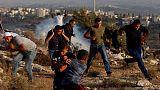إصابة ثلاثة صحفيين وفلسطينيين خلال مواجهات على أرض تريد إسرائيل مصادرتها