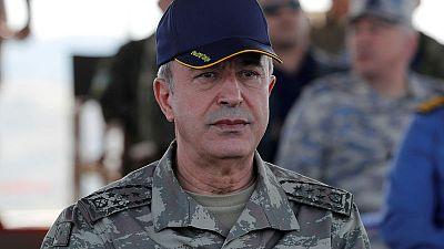 Kurdish militants must leave Syria, Turkey tells U.S. envoy