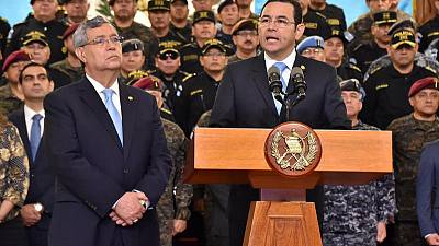 Guatemala bars entry to head of U.N. anti-corruption body
