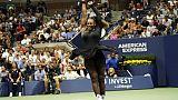 US Open: Serena à deux marches d'un 24e sacre
