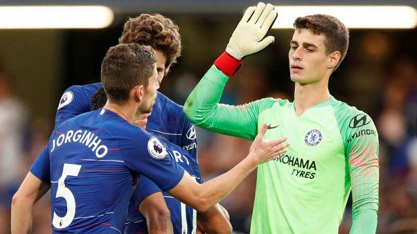 Chelsea's perfect start helps Arrizabalaga settle in