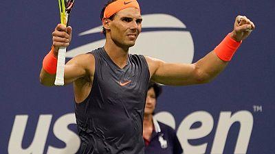 Nadal survives Thiem test to reach U.S. Open semis