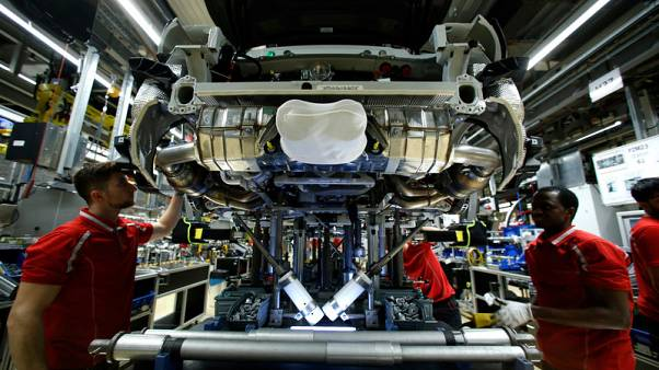 Euro zone business activity picked up in August but optimism dimmed - PMI