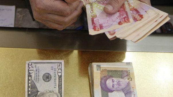 مواقع: الريال الإيراني يهبط لمستوى قياسي عند نحو 146 ألف ريال للدولار