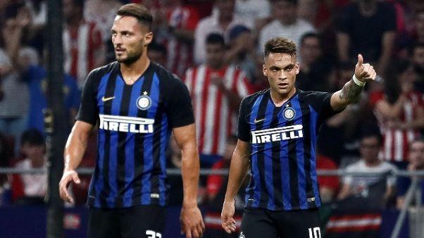 Inter, problema muscolare per Lautaro
