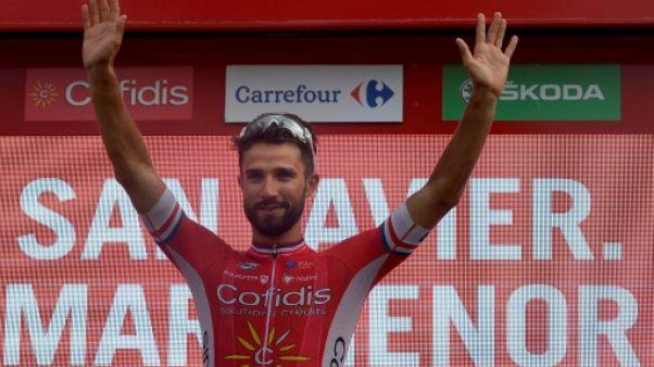 Tour d'Espagne: abandon de Bouhanni lors de la 11e étape
