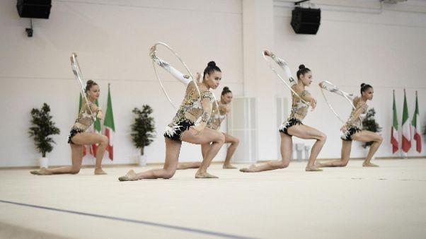 Ritmica: Malagò inaugura 'casa farfalle'
