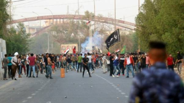 Irak: nouveaux tirs sur les manifestants à Bassora