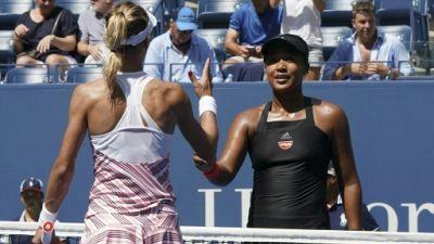Naomi Osaka, le 5 septembre, à l'US Open
