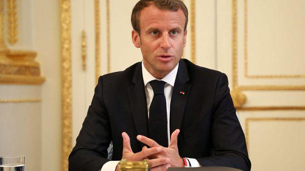 Macron seeks progressive coalition for EU parliament by end 2018