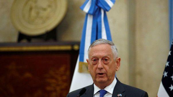 Trump says U.S. Defense Secretary Mattis to keep his job