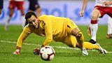 هاج حارس الكرة الخماسية ينقذ الدنمرك من هزيمة ثقيلة في سلوفاكيا